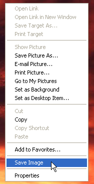 A new IE context menu item